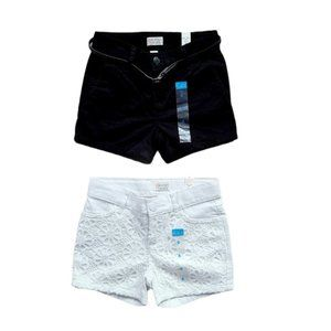 Lot 1 Children's Place 2 pairs Girls shorts size 6